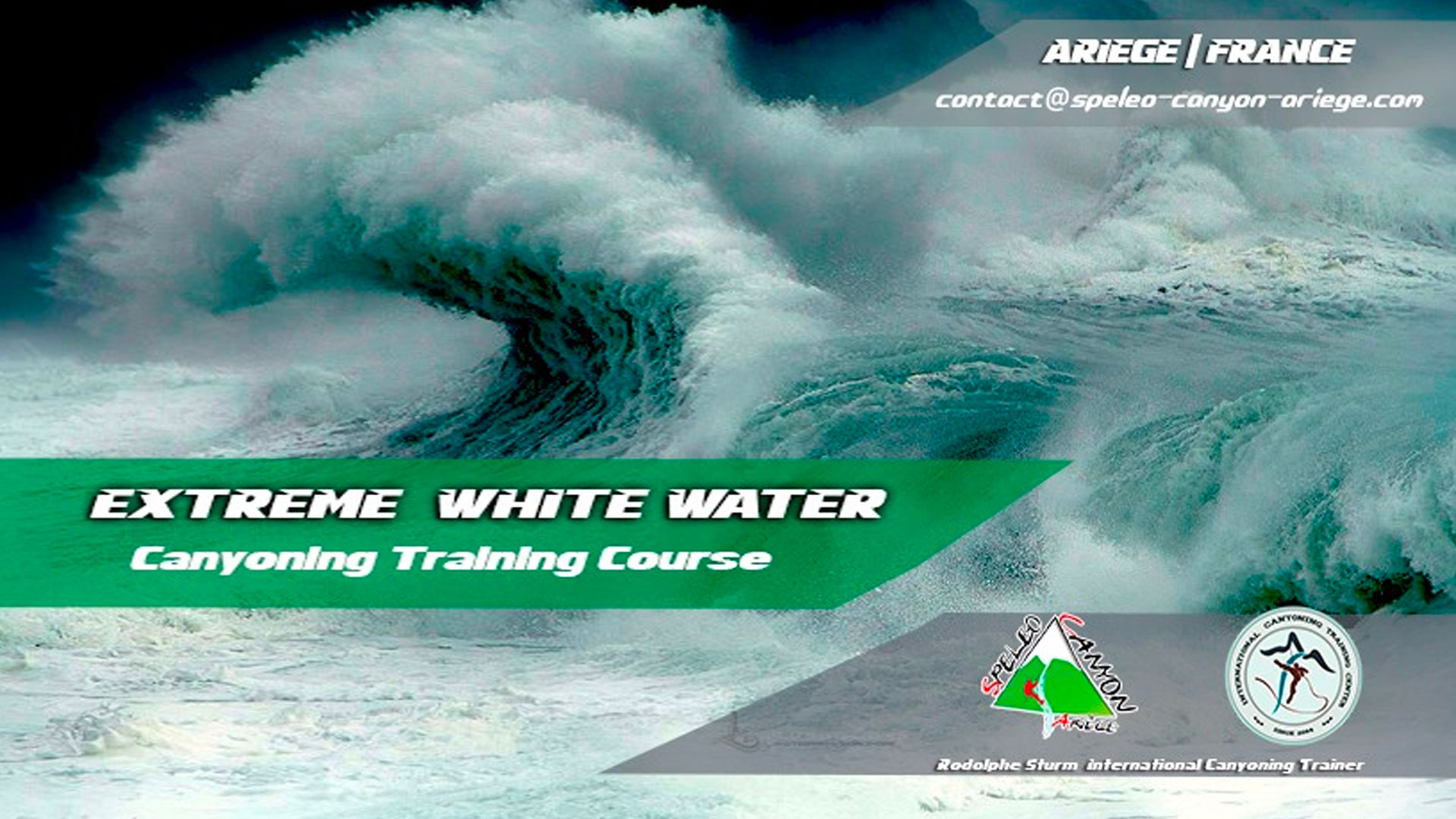 Course Extreme White Water France