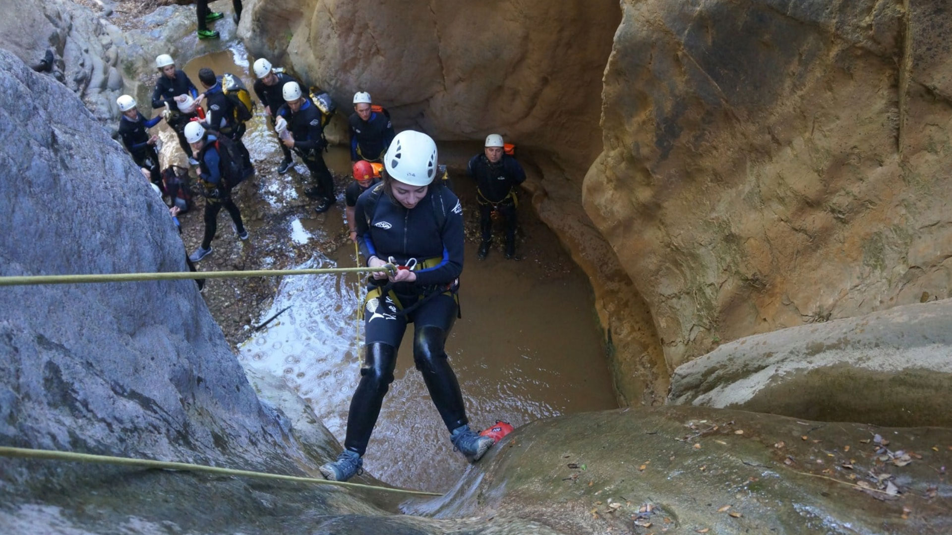 Canyoning Course in Pilion