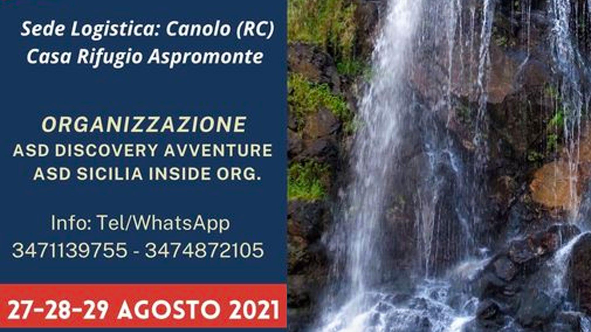 Aspromonte canyoning meeting details