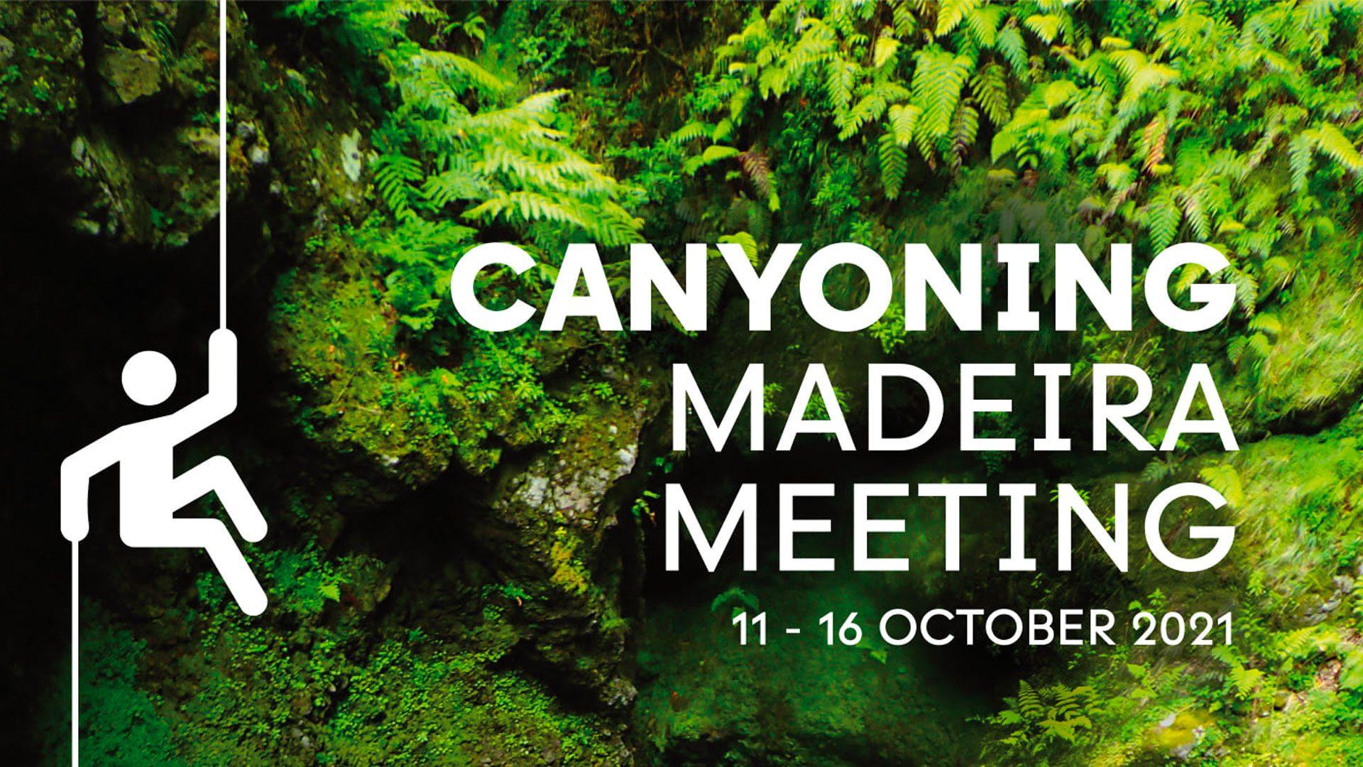 Madeira canyoning meeting 2021 facebook banner