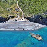 Petali beach in Central Evoia Greece