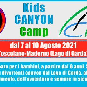 Kids Canyoning Camp 2021