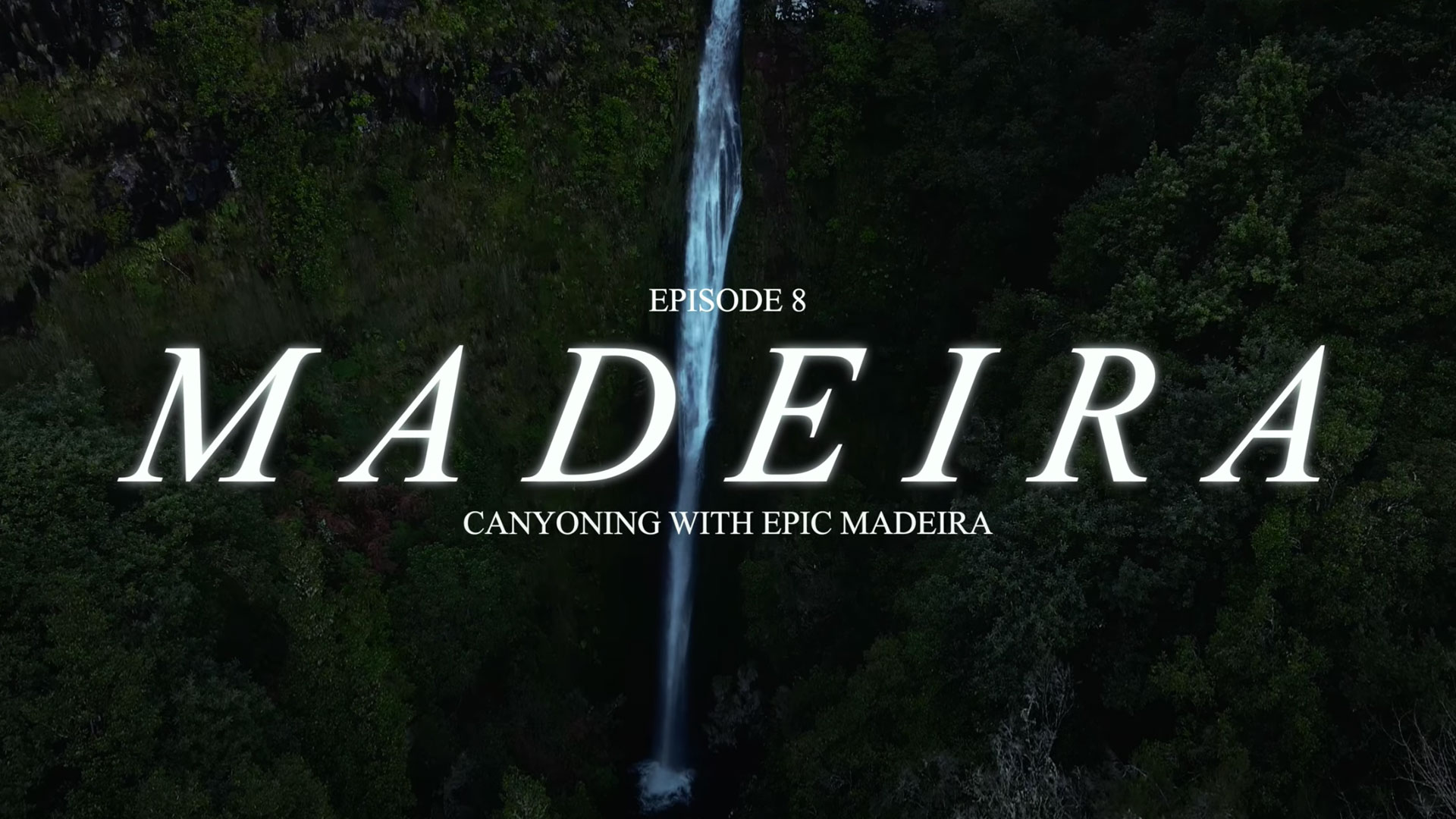 Waterfall in Madeira