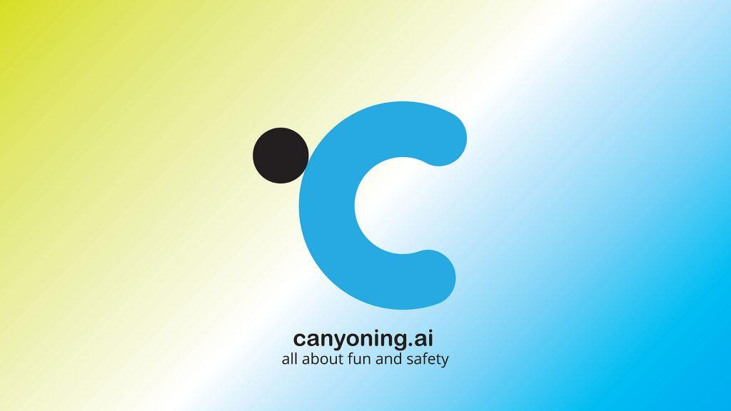The creation of canyoning.ai logo